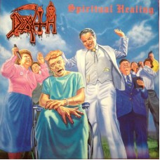 DEATH - SPIRITUAL HEALING - LP UK 1990 - ORIGINAL - RARE - EXCELLENT-