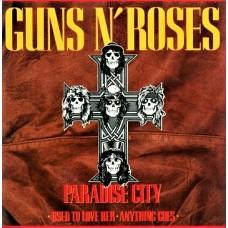 "GUNS N' ROSES - PARADISE CITY - 12"" 1989 - NEAR MINT"