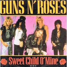 "GUNS N' ROSES - SWEET CHILD O'MINE - 7"" 1989 - NEAR MINT"