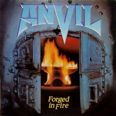 ANVIL - FORGET IN FIRE - LP 1983 - EXCELLENT+