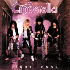 CINDERELLA - NIGHT SONGS - LP UK 1986 - NEAR MINT