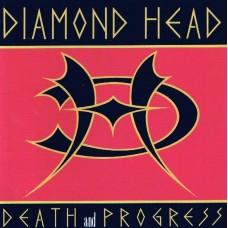 DIAMOND HEAD - DEATH AND PROGRESS - LP  UK 1993 - NEAR MINT