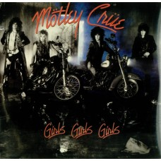 MOTLEY CRUE - GIRLS GIRLS GIRLS - LP 1987 - EXCELLENT+