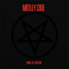 MOTLEY CRUE - SHOUT AT THE DEVIL - LP 1983 - EXCELLENT++
