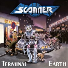 SCANNER - TERMINAL EARTH - LP 1990 - EXCELLENT