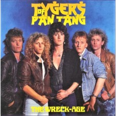 TYGERS OF PAN TANG - THE WRECK-AGE - LP UK 1985 - EXCELLENT
