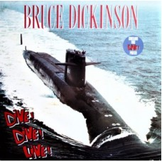"BRUCE DICKINSON - DIVE! DIVE! DIVE! - 12"" UK 1990 - POSTER SLEEVE - EXCELLENT"