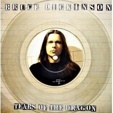 """BRUCE DICKINSON - TEARS OF THE DRAGON - 7"""" UK 1994 - CLEAR VINYL - NEAR MINT"""