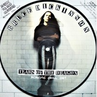 "BRUCE DICKINSON - TEARS OF THE DRAGON - 7"" UK 1994 - PICTURE DISC - NEAR MINT"