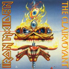 "IRON MAIDEN - THE CLAIRVOYANT - 12"" UK 1988 - EXCELLENT++"