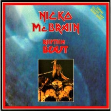 "NICKO McBRAIN - RHYTHM OF THE BEAST - 7"" UK 1991 - NEAR MINT"