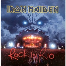 IRON MAIDEN - ROCK IN RIO - 3LP UK 2002 - PICTURE DISC - ORIGINAL - NEAR MINT
