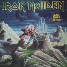 "IRON MAIDEN - RUN TO THE HILLS - 12"" 1985 - EXCELLENT++"