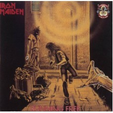 "IRON MAIDEN - RUNNING FREE / SANCTUARY - 2 x 12"" UK 1990 - ""FIRST TEN YEARS"" NM"