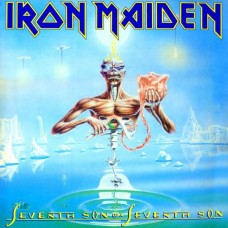 IRON MAIDEN - SEVENTH SON OF A SEVENTH SON - LP UK 1986 - EXCELLENT