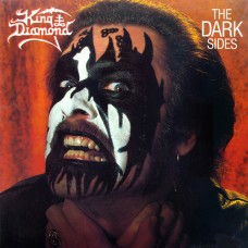 KING DIAMOND - THE DARK SIDES - EP 1988 - EXCELLENT