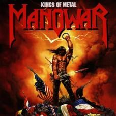 MANOWAR - KINGS OF METAL - LP 1988 - NEAR MINT