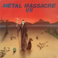 METAL MASSACRE - VII - LP USA 1986 - NEAR MINT