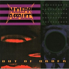 NUCLEAR ASSAULT - OUT OF ORDER - LP UK 1991 - EXCELLENT