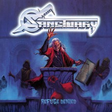 SANCTUARY - REFUGE DENIED - LP USA 1988 - NEAR MINT