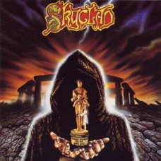 SKYCLAD - A BURNT OFFERING FOR THE BONE IDOL - LP 1992 - EXCELLENT+