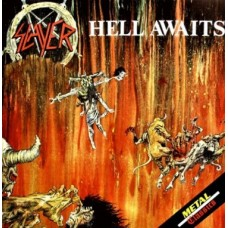 SLAYER - HELL AWAITS - 2 LP UK 1988 - LIMITED EDITION WITH POSTER - EXCELLENT