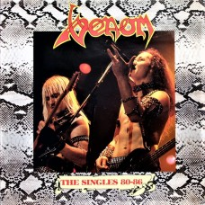 VENOM - THE SINGLES 80-86 - LP UK 1986 - EXCELLENT+