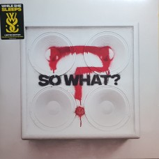 WHILE SHE SLEEPS - SO WHAT? - LP UK 2019 - LIMITED YELLOW & BLACK SPLATTER - MINT