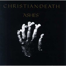 CHRISTIAN DEATH - ASHES - LP 1988 - EXCELLENT-