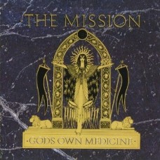 MISSION - GODS OWN MEDICINE - LP USA 1987 - EXCELLENT+