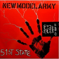"""NEW MODEL ARMY - 51st STATE - 2 x 12"""" UK 1986 - FACTORY SEALED - MINT"""