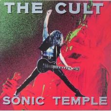 CULT - SONIC TEMPLE - LP UK 1989 - EXCELLENT