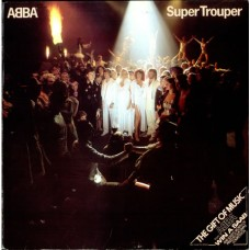 ABBA - SUPER TROUPER - LP UK 1980 - NEAR MINT