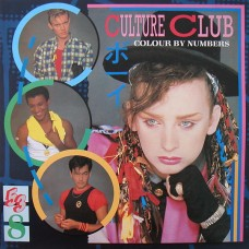CULTURE CLUB - COLOUR BY NUMBERS - LP UK 1983 - NEAR MINT