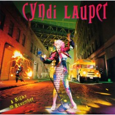 CYNDI LAUPER - A NIGHT TO REMEMBER - LP UK 1989 - EXCELLENT