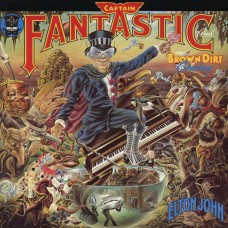 ELTON JOHN - CAPTAIN FANTASTIC AND THE BROWN DIRT COWBOY - LP UK 1975 - COMPLETE - NEAR MINT