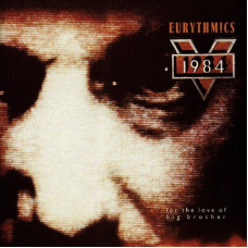 EURYTHMICS - 1984 - LP UK - EXCELLENT