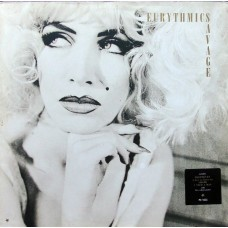 EURYTHMICS - SAVAGE - LP 1987 - WITH POSTER - EXCELLENT+