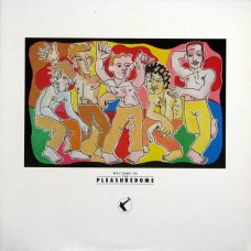FRANKIE GOES TO HOLLYWOOD - WELCOME TO THE PLEASUREDOME - LP UK 1984 - EXCELLENT