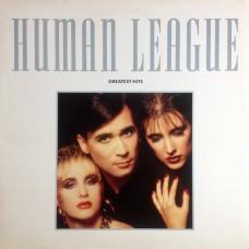 HUMAN LEAGUE - GREATEST HITS - LP UK 1988 - EXCELLENT