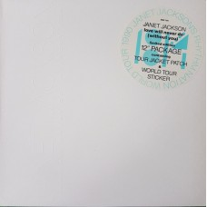 "JANET JACKSON - LOVE WILL NEVER DO (WHITHOUT YOU) - 12"" UK 1990 - LIMITED EDITION - EXCELLENT"