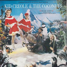 "KID CREOLE & THE COCONUTS - CHRISTMAS IN B'DILLI BAY WITH - 12"" 1982 - NEAR MINT"