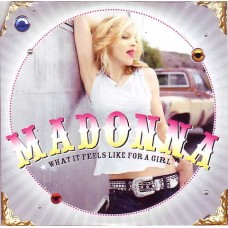 """MADONNA - WHAT IT FEELS LIKE FOR A GIRL - 12"""" 2001 - NEAR MINT"""