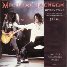 "MICHAEL JACKSON - GIVE IT TO ME - 7"" 1993 - POSTER SLEEVE - EXCELLENT-"