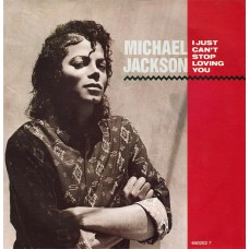 "MICHAEL JACKSON - I JUST CAN'T STOP LOVING YOU - 7"" 1987 UK - NEAR MINT"
