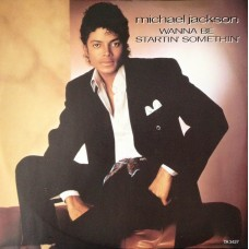 "MICHAEL JACKSON - WANNA BE STARTIN' SOMETHIN' - 12"" 1983 UK - NEAR MINT"