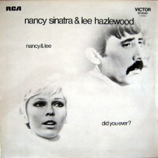 NANCY SINATRA AND LEE HAZLEWOOD - DID YOU EVER? - LP UK 1971 - EXCELLENT