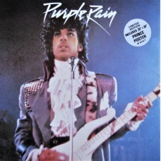 "PRINCE AND THE REVOLUTION - PURPLE RAIN - 12"" UK 1984 - LIMITED EDITION WITH POSTER"
