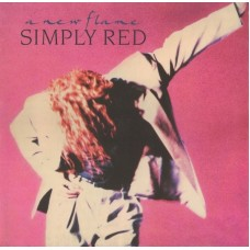 SIMPLY RED - A NEW FLAME - LP 1989 - EXCELLENT++