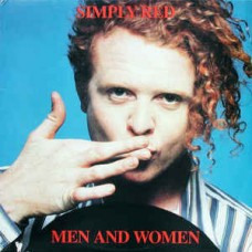 SIMPLY RED - MEN AND WOMEN - LP 1987 - NEAR MINT